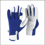 Spear & Jackson Mens Blue Kew Gardening Gloves