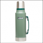 Stanley Classic Stainless Steel 1L Vacuum Flask Green 1