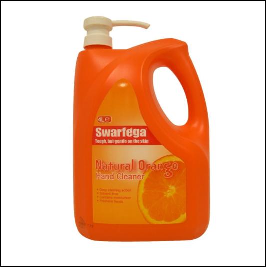 Swarfega Orange Hand Cleaner 4L Pump Pack