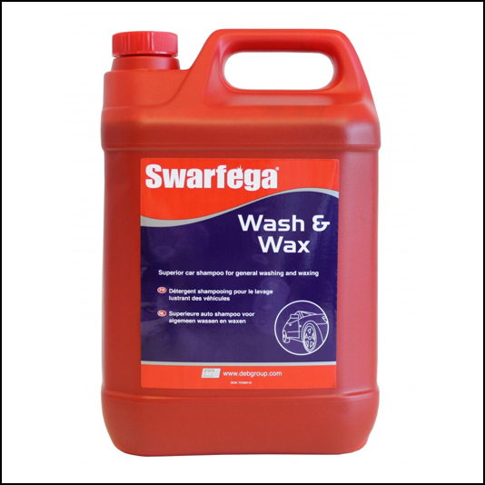 Swarfega Wash & Wax Car Shampoo and Conditioner 5L