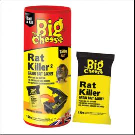 STV The Big Cheese Rat Killer Grain Bait Sachet 150g 1