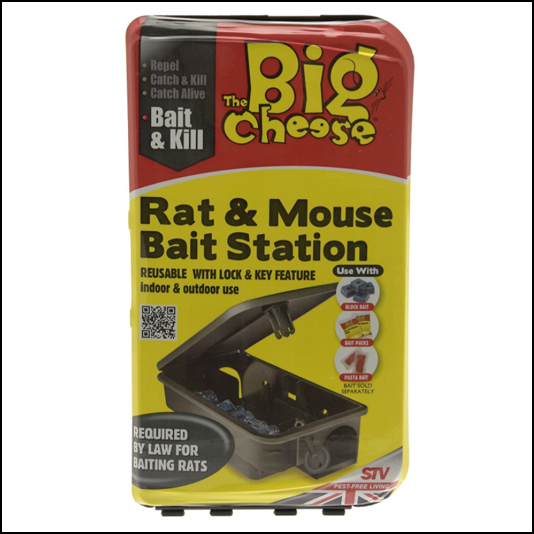 STV The Big Cheese Rat & Mouse Bait Station 1