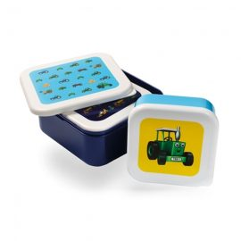 Tractor Ted 3pk Stacking Snackpots