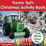Tractor Ted Children's Christmas Activity Book