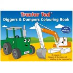 Tractor Ted Diggers & Dumpers Colouring Book