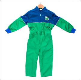 Tractor Ted Farm Overalls 1