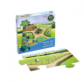 Tractor Ted Giant Floor 15pc Puzzle Playmat 1