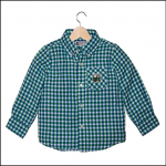 Tractor Ted Green Check Shirt