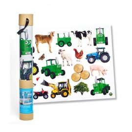 Tractor Ted Wall Stickers