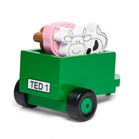 Tractor Ted Wooden Trailer