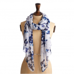Joules Wensley Scarf Cream Bud