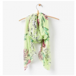 Joules Wensley Scarf Lime Floral