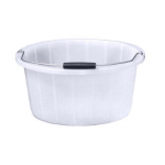 White 15inch Feed Bucket