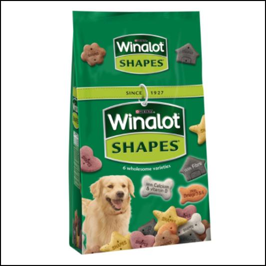 Winalot Shapes Dog Biscuits 2kg