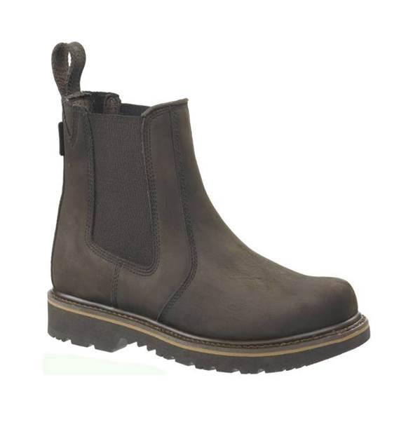 Buckler Buckflex Brown Dealer Boots