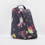 Joules Welland Navy Floral Welly Boot Bag