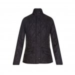 Barbour Cavalry Black Quilted Jacket