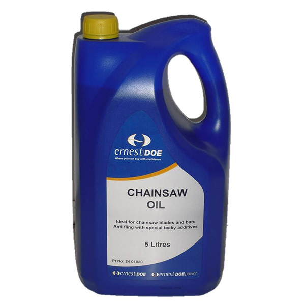 Ernest Doe 5L Chainsaw Oil