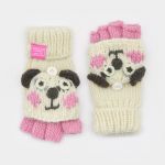 Joules Panda Chum Character Gloves