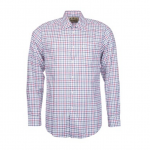 Barbour Edford Red Checked Shirt