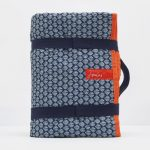 Joules French Navy Shells Picnic Rug