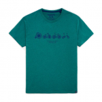 Joules Harborough Green Bicycle T-shirt