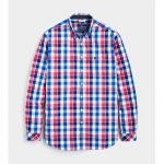 Joules Hewney Deep Raspberry Gingham Shirt 1