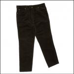 Hoggs of Fife Moleskin Jeans Dark Olive 1