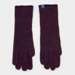 Joules Burgundy Knitted Gloves