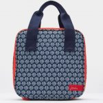 Joules French Navy Shells Printed Lunch Bag