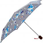 Joules Multi Flo Stripe Umbrella