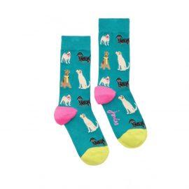 Joules Brilliant Bamboo Multi Dog Socks