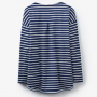 Joules Navy Bay Drop Shoulder Jersey Top