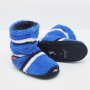 Joules Padabout Blue Stripe Boys Slippers