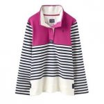 Joules Classic Cowdray Pink Block Sweatshirt