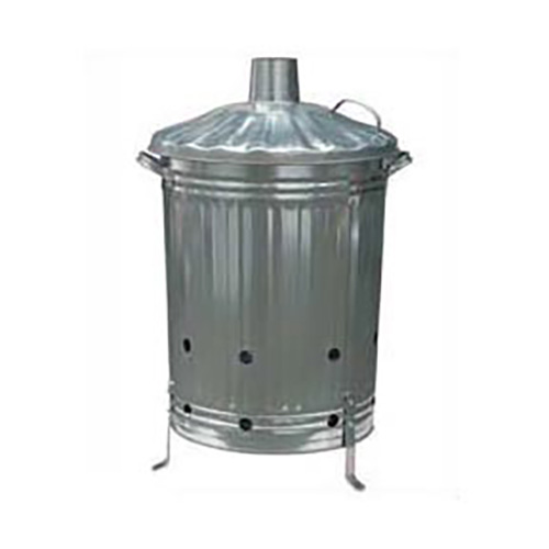 Galvanised Incinerator