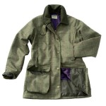 Hoggs Caledonia Tweed Coat Waterproof, Windproof and Breathable Drop Liner Membrane