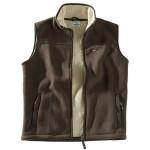 Hoggs Mustang fleece Waistcoat Brown