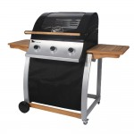 Sahara Oak Roaster 3 Burner BBQ