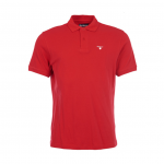 Barbour Sports Polo Red