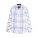 Joules Welford Blue Checked Shirt