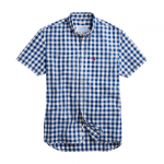 Joules Wilson Blue Checked Shirt
