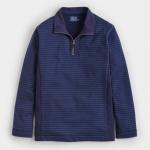 Joules Woodland Half Zip Striped Sweatshirt